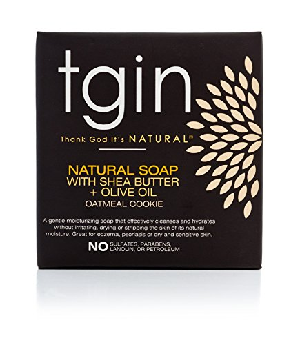 Thank God It's Natural Olive Oil Soap, Oatmeal Cookie, 4 Ounce (Body Oatmeal Cookie)