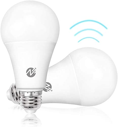 Amazon.com: Bombillas de luz con sensor de movimiento Dusk a ...