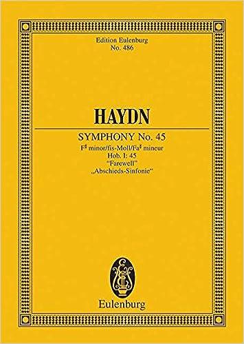 Symphony No. 45 in F-sharp minor, Hob.I:45