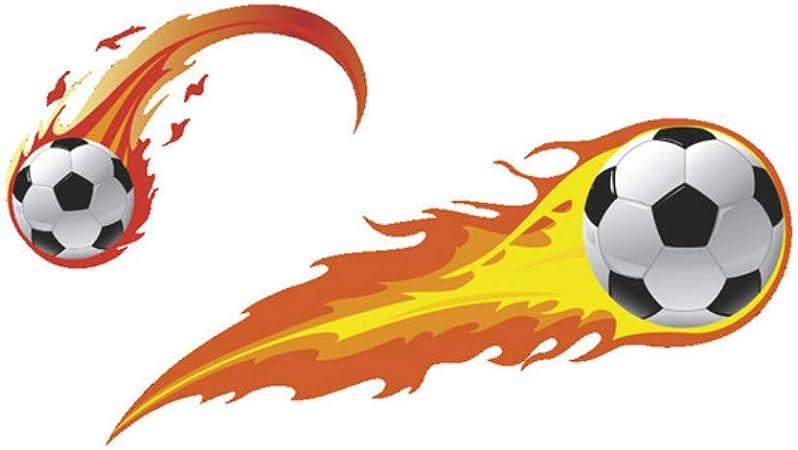 Llama Fútbol Pegatinas de pared Cuarto de baño Armario ...