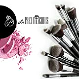 CLEARANCE SALES! PERFECT 10 KABUKI MAKEUP BRUSH 10PCS SET. FREE BRUSH CYLINDER and SOFT BRUSH POUCH (12 Slots) and BEAUTY E-BOOK. CYBER MONDAY SALE NOW!! …