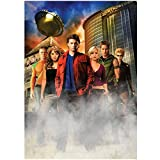 Allison Mack and Tom Welling Plus Cast of Smallville 8 x 10 Photo