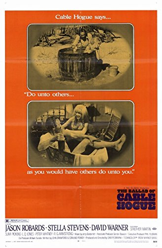 The Ballad of Cable Hogue - Movie Poster - 11 x (Cable Hogue Poster)