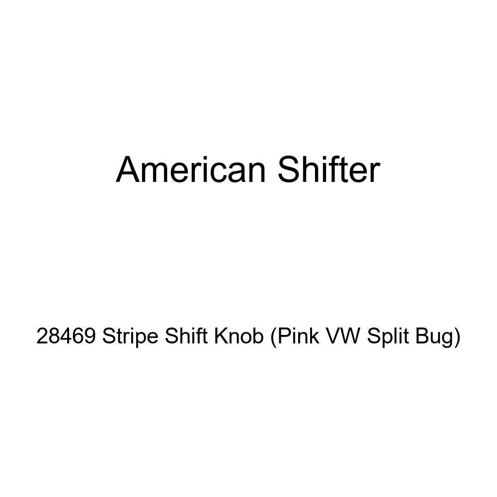 Pink VW Split Bug American Shifter 28469 Stripe Shift Knob