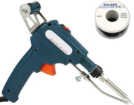 EU Plug 30W 40W 60W Electric Temperature Welding Solder Soldering Iron Tool Kit