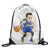 Bekey Stephen Curry 30 Drawstring Backpack Sport Bag For Men & Women For Home Travel Storage Use Gym Traveling Shopping Sport Yoga Running