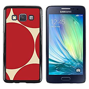 LECELL--Funda protectora / Cubierta / Piel For Samsung Galaxy A3 SM-A300 -- Pattern Sharp Repeating --