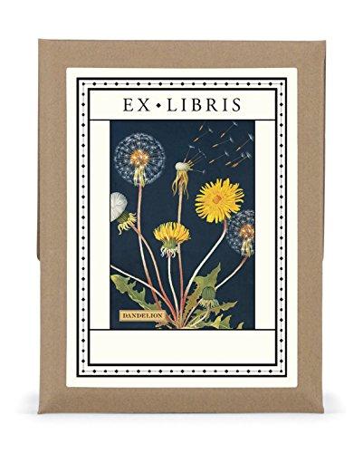 (Cavallini & Co.. Dandelion Ex Libris Bookplate Set)