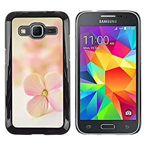 Exotic-Star ( Flower Petal Blooming Nature ) Fundas Cover Cubre Hard Case Cover para Samsung Galaxy Core Prime / SM-G360