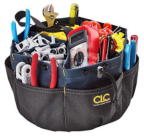 CLC Work Gear 1148 22 Pocket Drawstring Bucket Bag by Custom Leathercraft