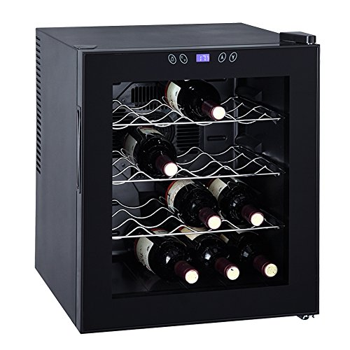 Read About Generic Thermoelectric Wine Cooler Refrigerator Cabinet Counter Top Mini Beer Cellar,16 B...