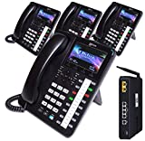 XBLUE X25 System Bundle with (4) X4040 Vivid Color Display IP Phones (X2544)