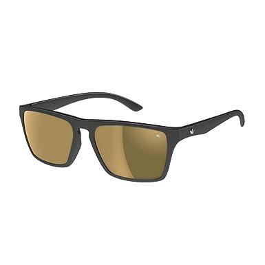 468ddc41775 Adidas Melbourne Sunglasses - Black Shiny Gold Mirror  Amazon.co.uk ...