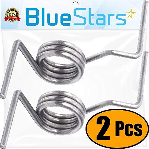 Ultra Durable DA81-01345B French Door Refrigerator Spring Replacement Part by Blue Stars – Exact Fit for Samsung Refrigerators – Replaces DA61-07471A, DA81-01345A – PACK OF 2