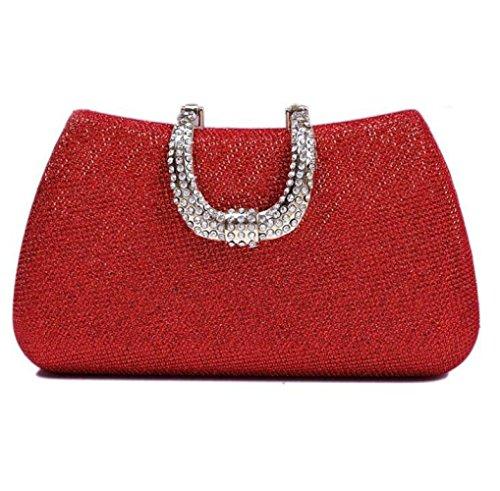 L'Europe Soirée De Sacs Mesdames Femmes Unis De Diamant Embrayage Red Banquet Mode De États WLFHM Et De Sac Sac Les IgI8fwq