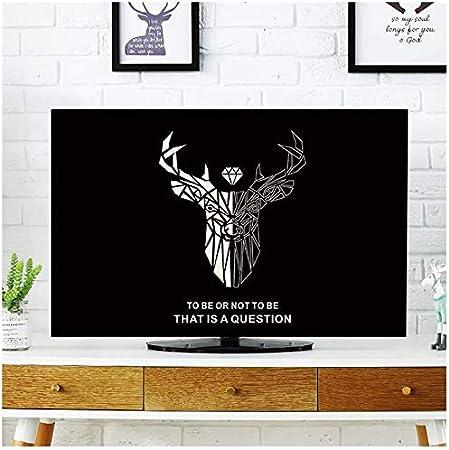 XJRHB TV Patio CoverTV Cubierta guardapolvo Tipo de Cubierta de 55 Pulgadas LCD TV 60 Polvo Cubierta del paño de televisión Tela Ordenador Multi-tamaño de Guardapolvos Sección F55in: Amazon.es: Hogar