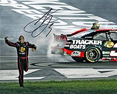 AUTOGRAPHED Austin Dillon #3 Bass Pro Shop Racing KENTUCKY WINNER (Nationwide Rookie) Signed Glossy 8X10 NASCAR Photo with COA