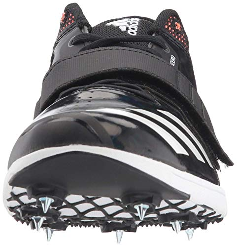 adidas Adizero tj/pv Running Shoe core Black, FTWR White, Orange 14.5 M US by adidas (Image #2)