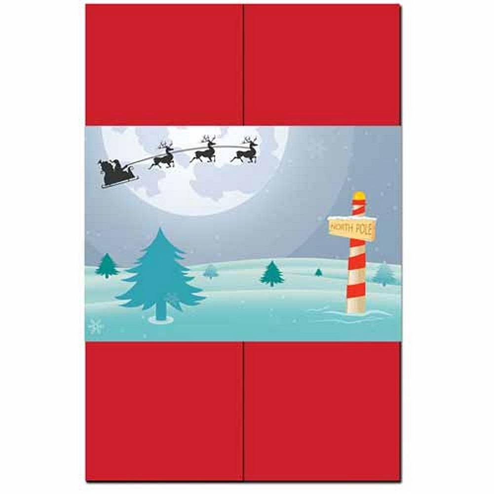 North Pole Invitation Kit - 80 Pack