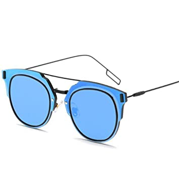 Wmshpeds Retro metal tendencia gafas de sol Gafas de sol ...