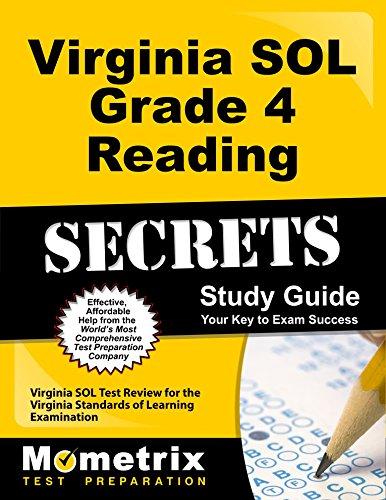 Virginia SOL Grade 4 Reading Secrets Study Guide: Virginia SOL Test Review for the Virginia Standards of Learning Examination