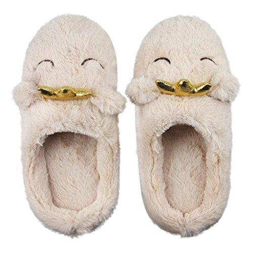 Motif Léger Bureau Automne Sourire Chaussures Sandales Dames Chaussons Douce Maison Cartoon Hiver Pantoufles Peluche D'intérieur Chaudes Confortable Thermique Antidérapante Femmes Mule En RZ0BwqF