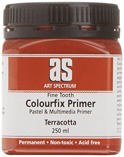 Golden Acrylic Ground - Colourfix Sanded Pastel Grounds Terracotta 250 ml (8.5 oz) jar