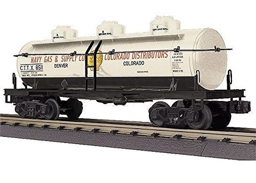 MTH Electric Trains O Shell Triple Dome Tank Car