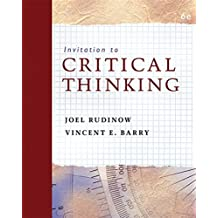Amazon vincent barry books invitation to critical thinking fandeluxe Choice Image