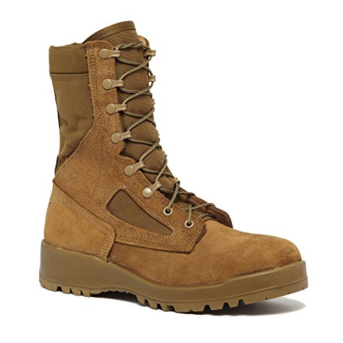 - Belleville 551 Hot Weather Steel Toe Combat,Coyote Tan,10 D(M) US