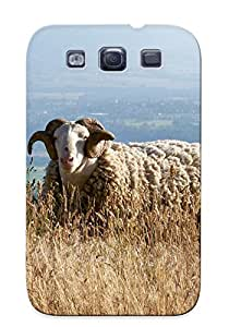 New Animal Sheep Tpu Case Cover, Anti-scratch Xdawnd-3614-wdnihwx Phone Case For Galaxy S3 With Design
