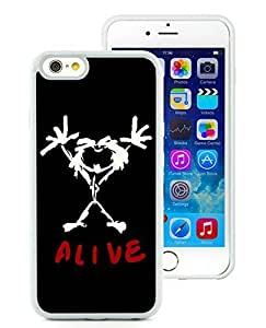 Customized pearl jam alive iPhone 6 4.7 Inch TPU Case in White