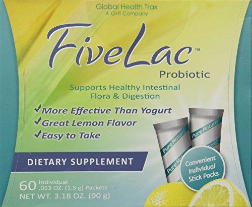 FiveLac-Five Lac Probiotic (60 Packets)