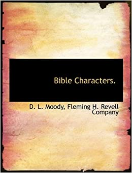 Book Bible Characters.