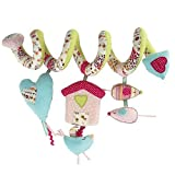Mamas and Papas Made with Love Activity Spiral Stroller Toy - Girl