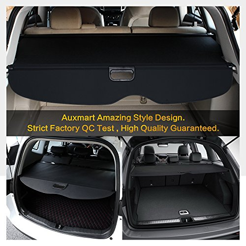 auxmart trunk cargo cover fit 2011 2016 jeep grand cherokee import it all. Black Bedroom Furniture Sets. Home Design Ideas