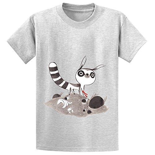 lem-child-crew-neck-cotton-t-shirts-grey