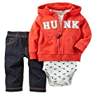 Carter's Baby Boys' 3 Piece Cardigan Set (Baby) -Hunk-3M