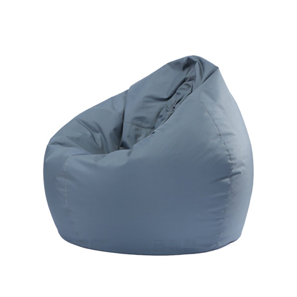 Flameer Kids Waterproof Stuffed Animal Storage Bean Bag Cover, 11 Colors Available - Gray