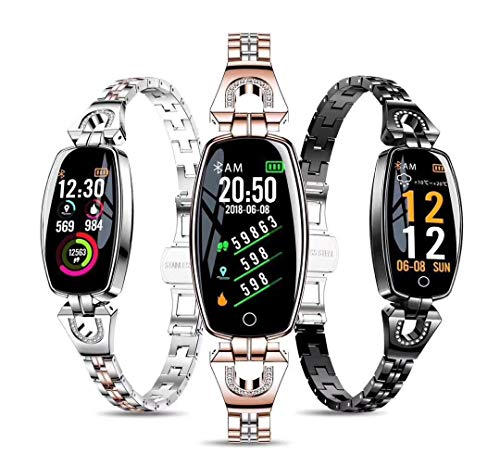 51rLekA6D0L Gadgets Appliances Gadgets Appliances Female's Smart Watch, Exquisite Fitness Tracker, Blood Pressure/Heart Rate/Sleep…