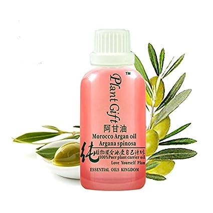 Plant Gift-Argan Aceite base-Espasmos musculares lisos, tratamiento de enfermedades de la