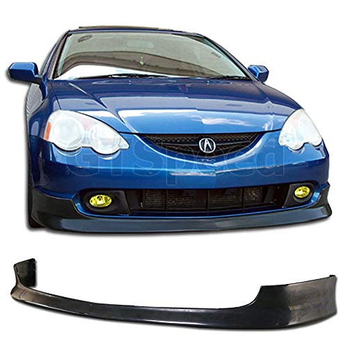 GT-Speed made for 02-04 Acura RSX Type-R TR Style Front PU Bumper Add-on Lip