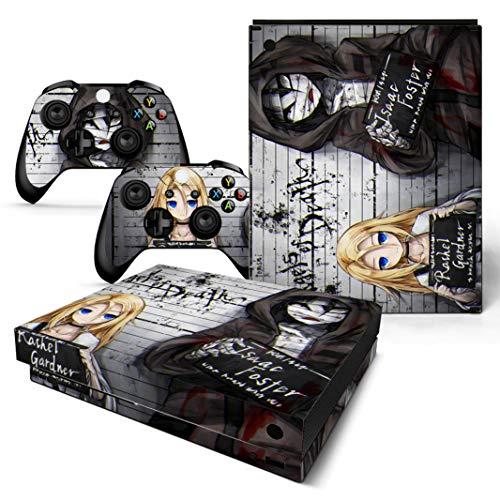 EBTY-Dreams Inc. - Microsoft Xbox One X Scorpio - Angels Of Death (Satsuriku no Tenshi) Anime Rachel Gardner, Isaac Foster Vinyl Skin Sticker Decal Protector