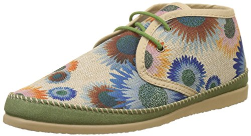 Ippon Vintage Damen Smile-Wind Desert Boots Multicolore (Flowers)