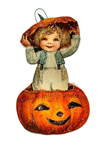 Halloween Ornament Decoration Cute Pumpkin Boy