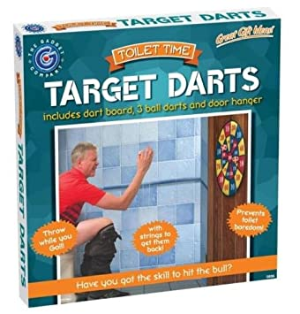 Trendia Toilet Bathroom Target Dart Potty Loo Boredom Game Fun With