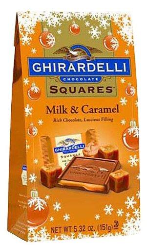 Ghirardelli Milk Chocolate Squares w/ Caramel Filling, 6 pk (Squares Ghirardelli Carmel)