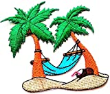 Nipitshop Patches Beautiful Coconut Palm Tree