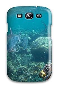 Fashion Tpu Case For Galaxy S3- Flamenco Beach Defender Case Cover