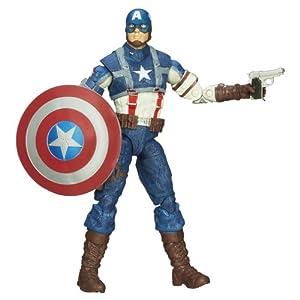 Captain America Marvel Legends WW2 Captain America Figure 6 Inches